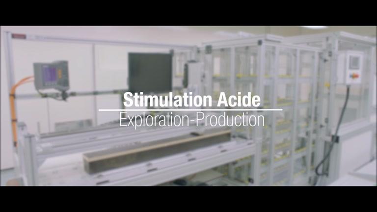 Stimulation acide - Centre de recherche au Qatar