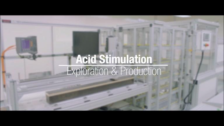 Acid stimulation - Research Center in Qatar